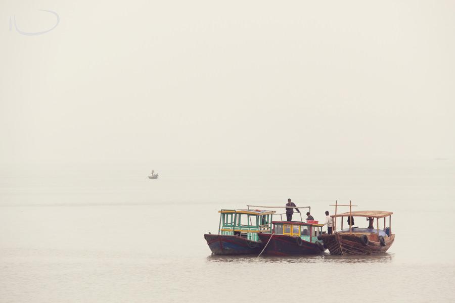 Vietnam Wedding Photographer: Fishing boats