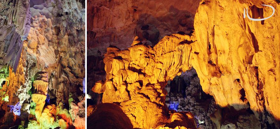 Halong Bay Vietnam Wedding Photographer: Caves