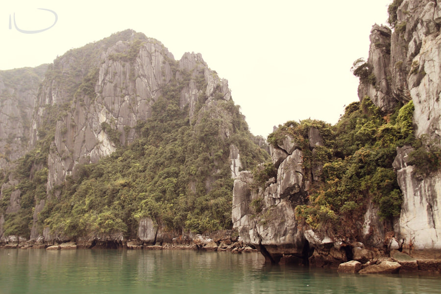 Halong Bay Vietnam Wedding Photographer: Limestone karsts in Halong Bay