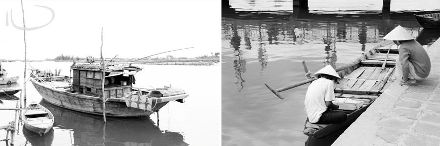 Vietnam Wedding Photographer: Boats
