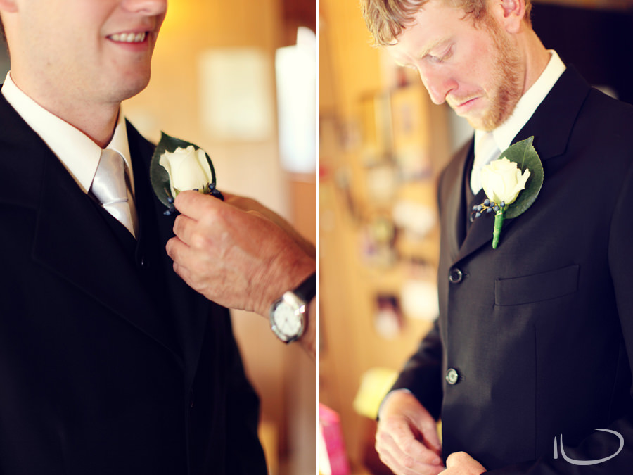 Apollo Bay Victoria Wedding Photographer: Groomsmen getting ready