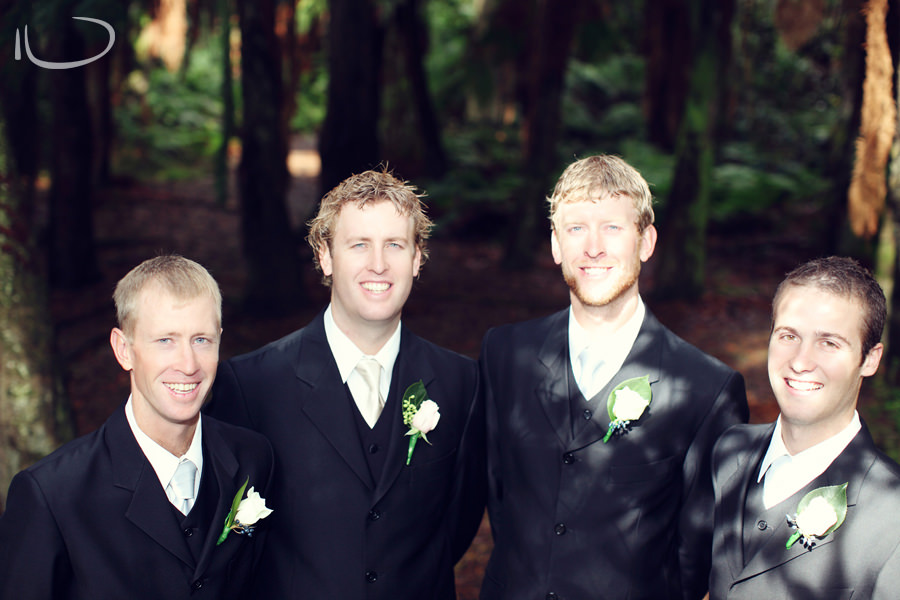 Apollo Bay Victoria Wedding Photographer: Groom & groomsmen