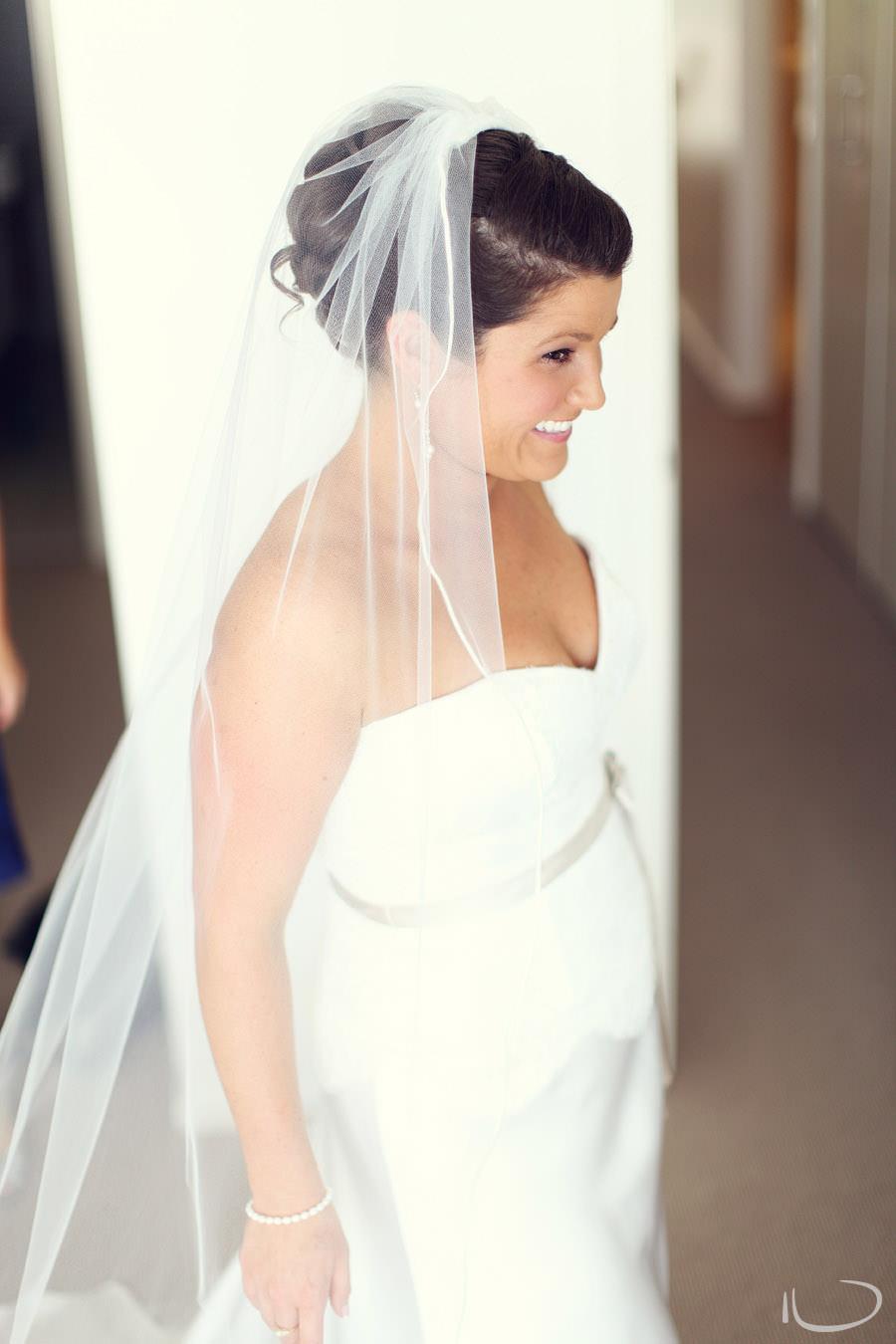 Apollo Bay Victoria Wedding Photographer: Bride excited ready to go