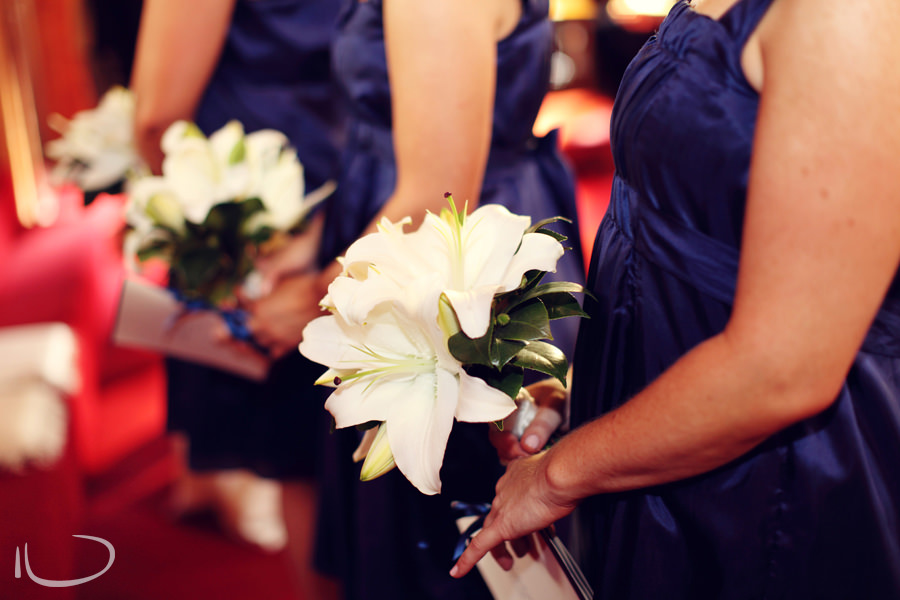 St. Aidans Church Apollo Bay Victoria Wedding Photographer: Bridesmaid bouquet