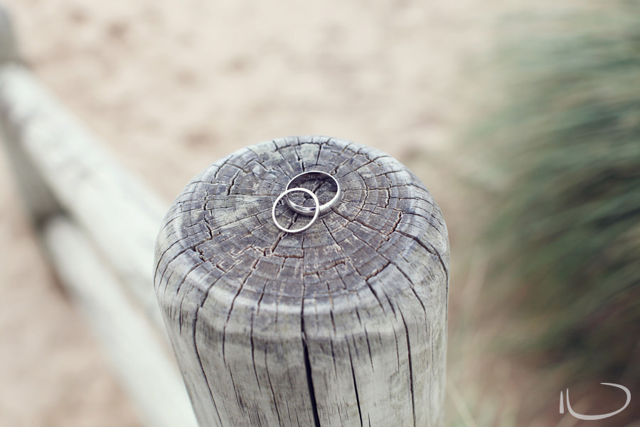 Otway Estate Barongarook Victoria Wedding Photographer: Wedding rings