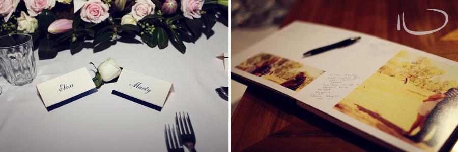 Otway Estate Barongarook Victoria Wedding Photographer: Reception details