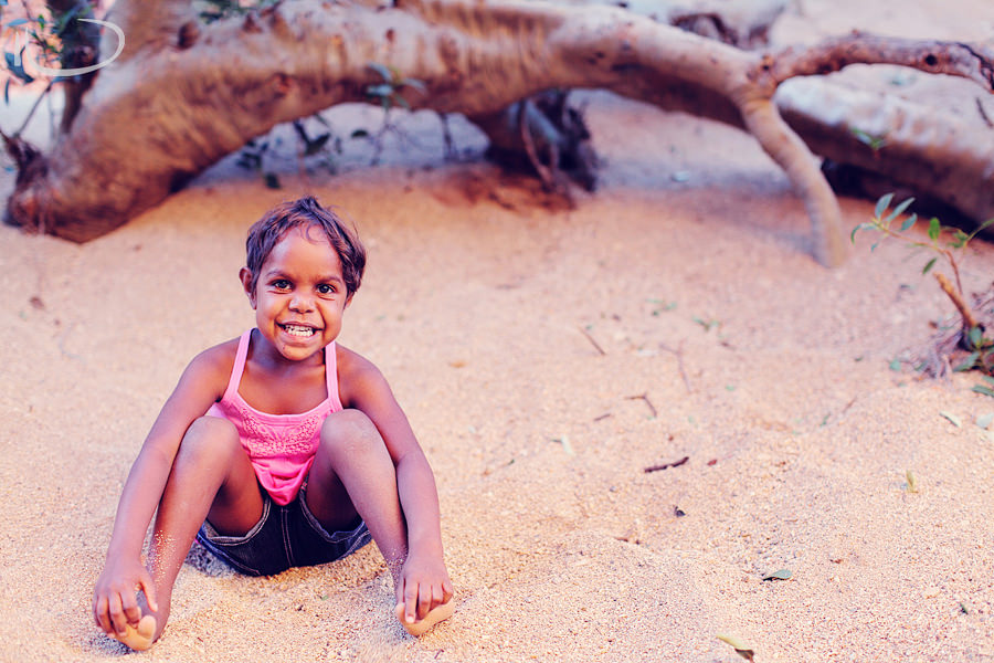 Alice Springs Family Photographer: Child portrait