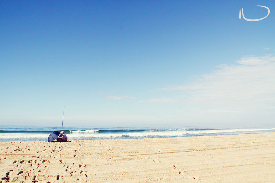Newcastle Photographer: Fishing Stockton Beach