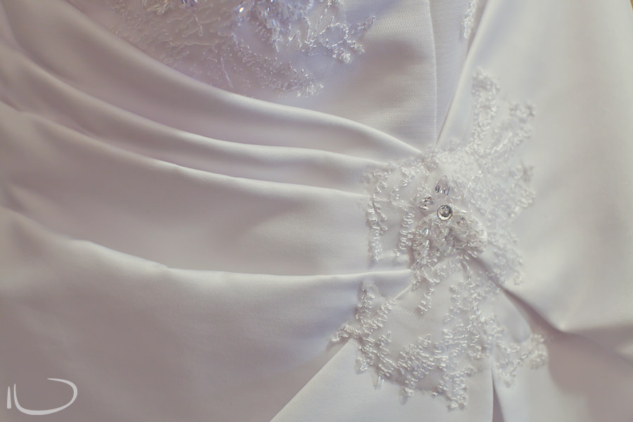 Strathfield Sydney Wedding Photographer: Bride dress details