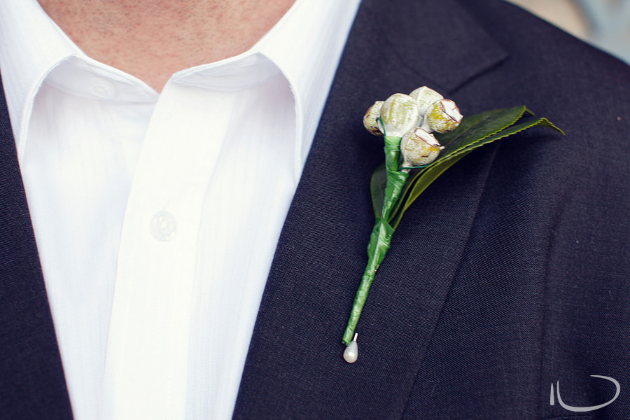 Concord Sydney Wedding Photographer: Groom's boutonniere
