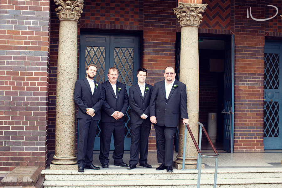 Concord Sydney Wedding Photographer: Groom & Groomsmen before ceremony