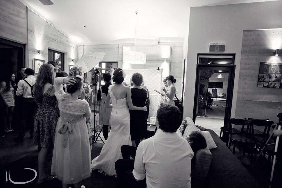 Margan Winery Hunter Valley Wedding Photographer: Photobooth setup