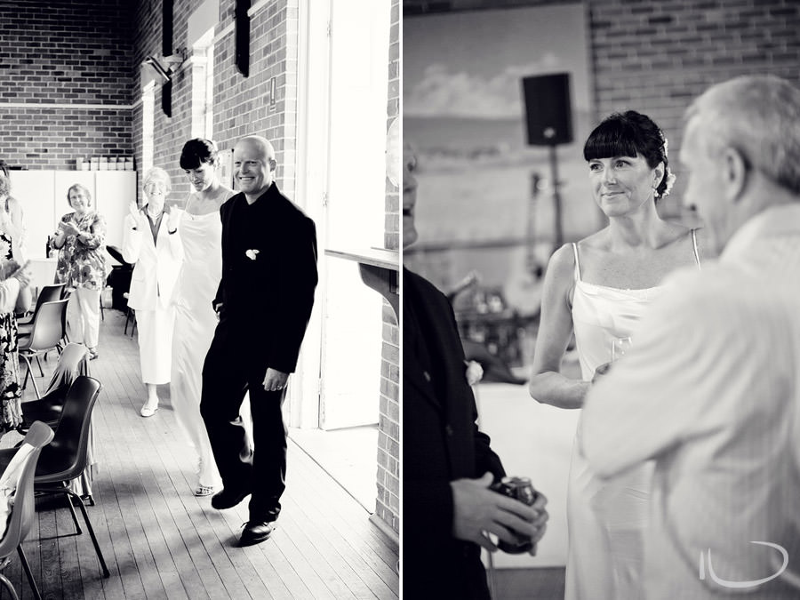Mudgee NSW Wedding Photographer: Bride & Groom entrance