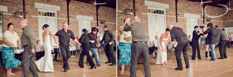 Mudgee NSW Wedding Photographer: Square dancing reception