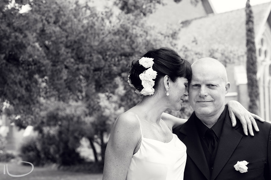 Mudgee NSW Wedding Photographer: Relaxed Bride & Groom modern portrait