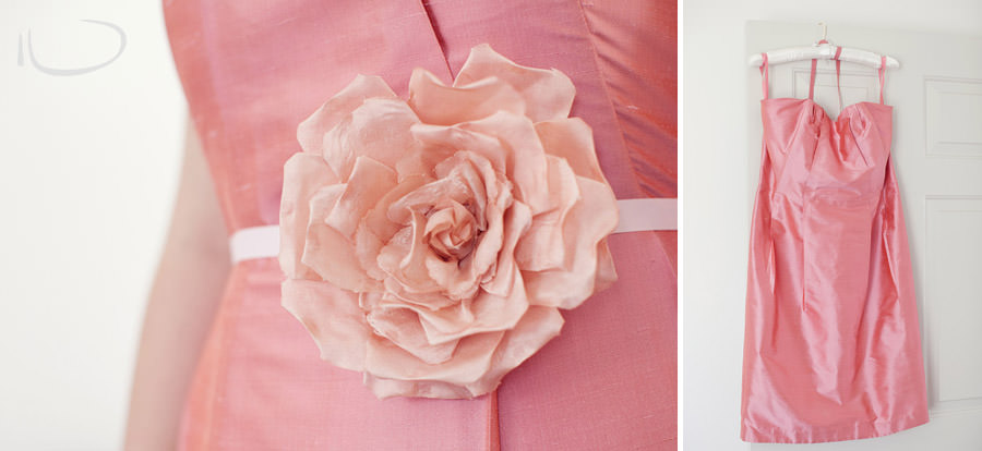 Pokolbin Hunter Valley Wedding Photographer: Bridesmaid dress detail