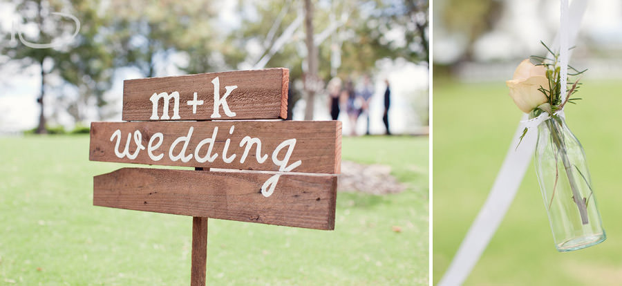 The Vintage Hunter Valley Wedding Photographer: Ceremony details - welcome sign
