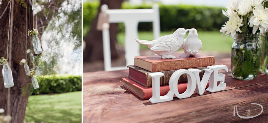 The Vintage Hunter Valley Wedding Photographer: Signing table details