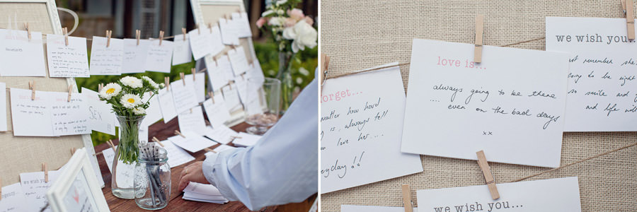 The Vintage Hunter Valley Wedding Photographer: Words of wisdom guest book