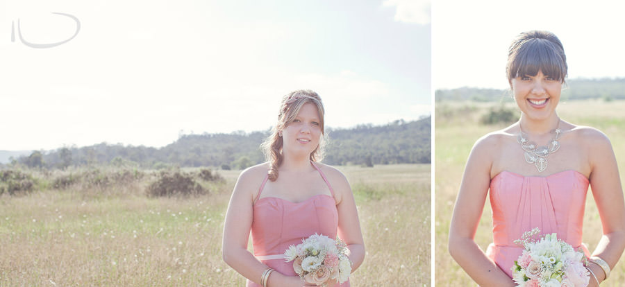 The Vintage Hunter Valley Wedding Photographer: Bridesmaid portraits
