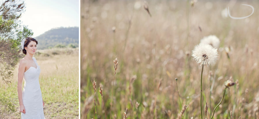 The Vintage Hunter Valley Wedding Photographer: Bridal portrait