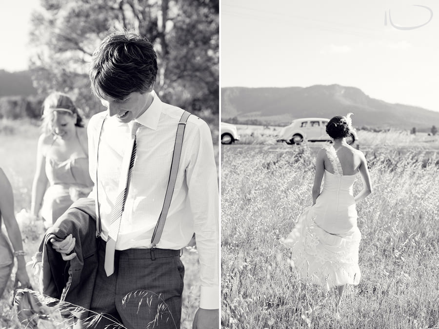 The Vintage Hunter Valley Wedding Photographer: Candid bride & groom portraits