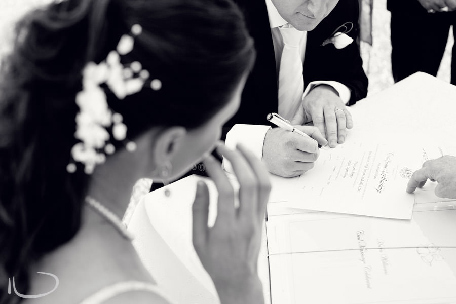 Banjo Paterson Gladesville Wedding Photographer: Signing registry