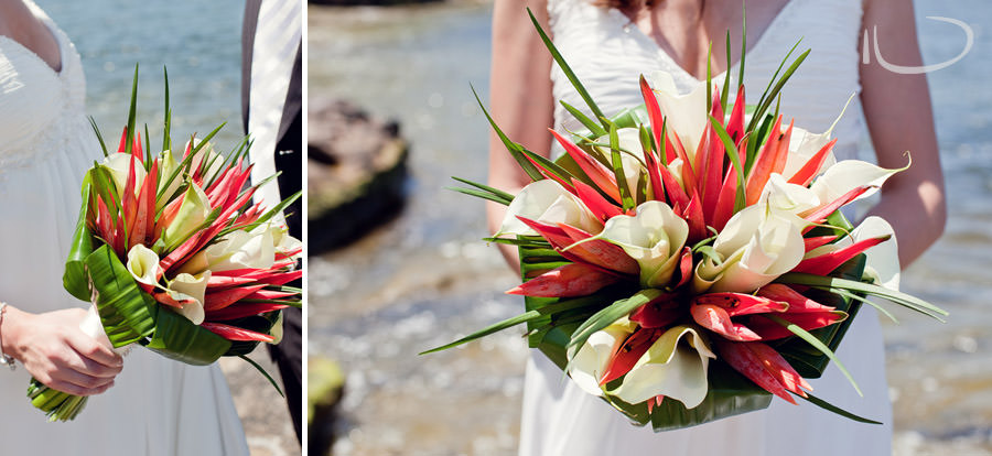 Gladesville Wedding Photographer: Modern Bride bouquet