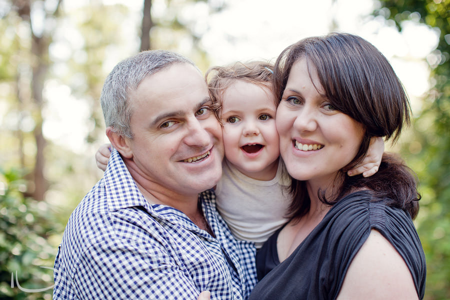 Kurrajong Blue Mountains Sydney Child Photographer: Fun family portrait