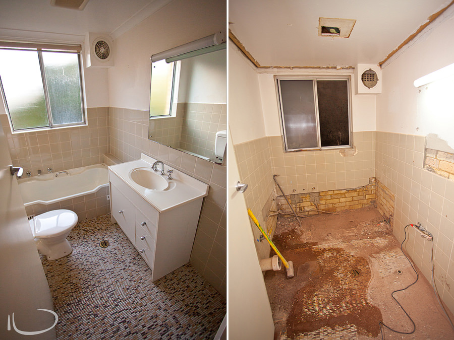 Mona Vale Photographer: Bathroom Renovation - Before