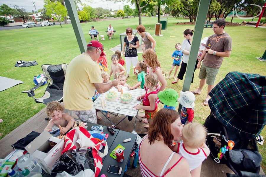 Northern Beaches Sydney Child Birthday Party Photographer: Kids birthday party at park