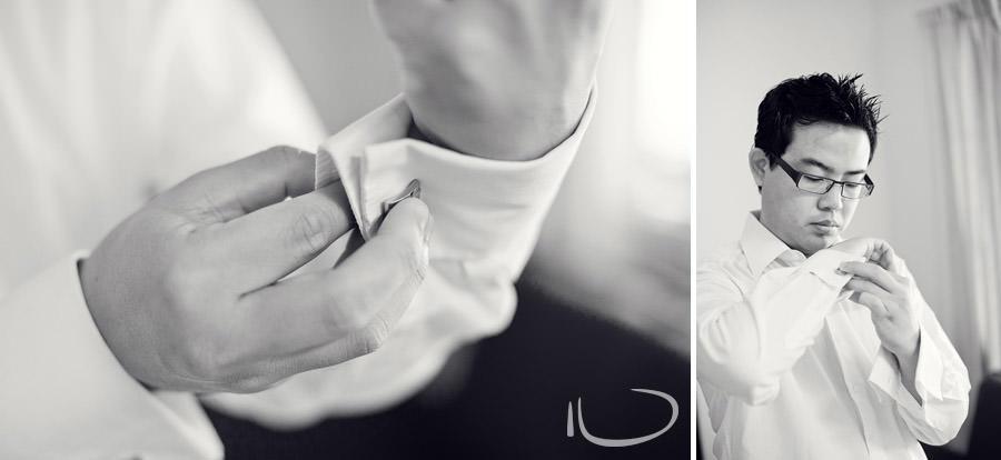 Concord Wedding Photographer: Groom getting ready