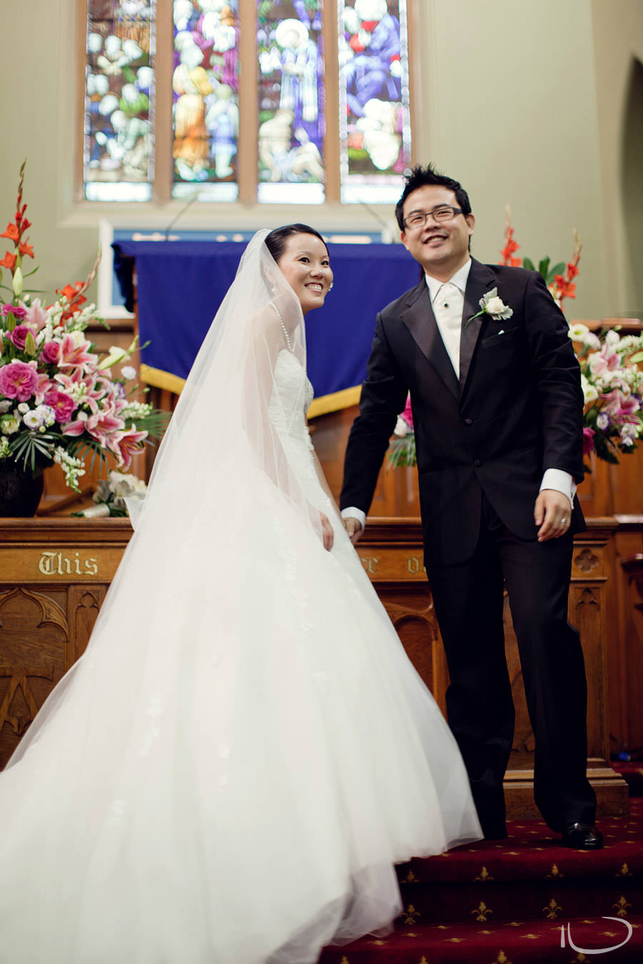 Chinese Presbyterian Church Wedding Photographer: Bride & Groom