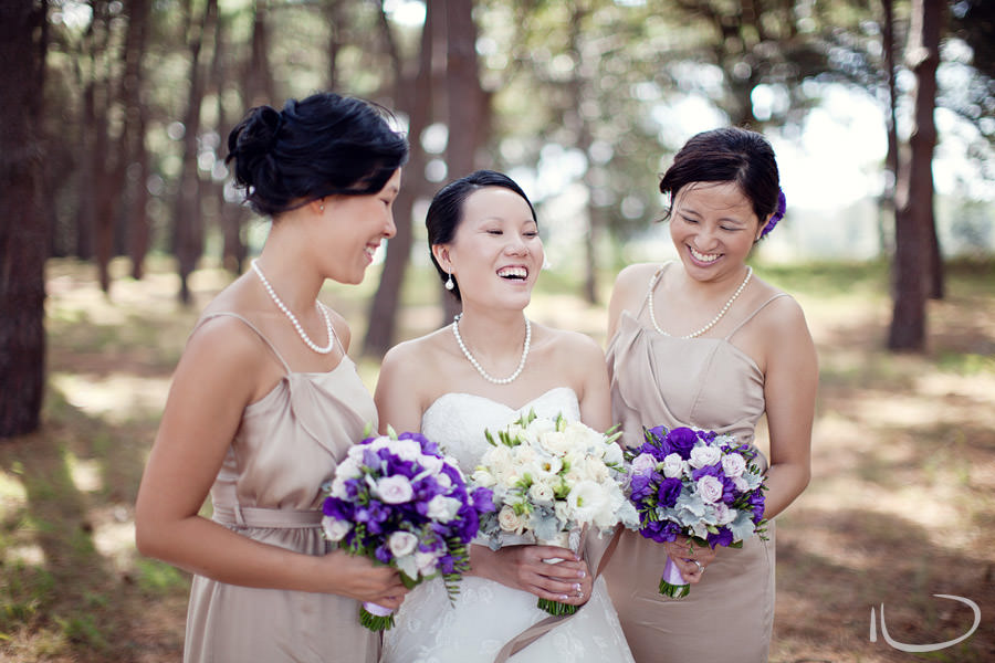 Sydney Centennial Park Wedding Photographer: Bride & Bridesmaids