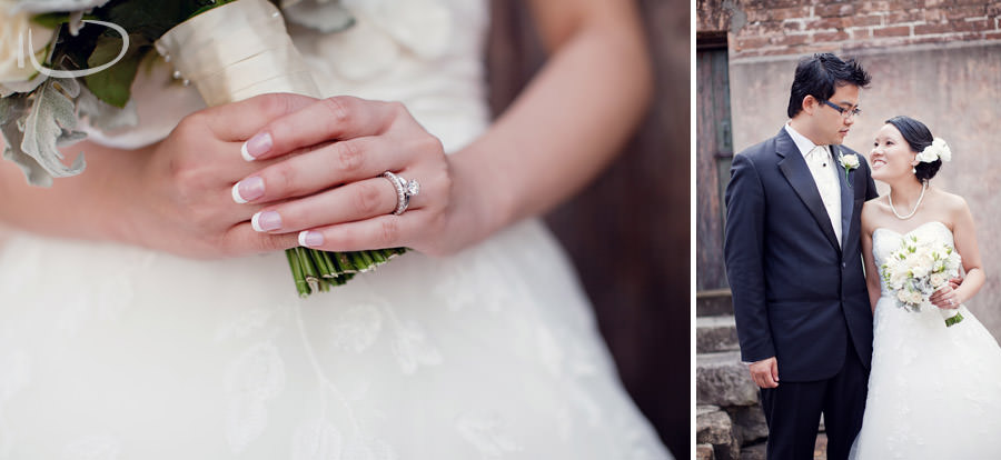 The Rocks Sydney Wedding Portrait Photographer: Ring Detail
