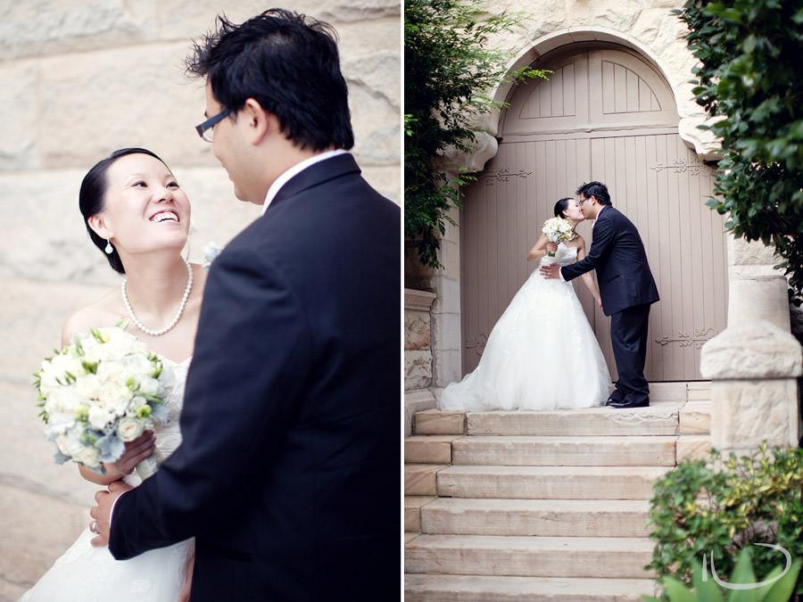 Curzon Hall Wedding Photographer: Bride & Groom portraits
