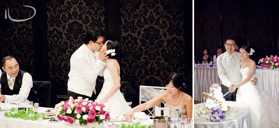 Curzon Hall Sydney Wedding Photographer: Bride & Groom kiss