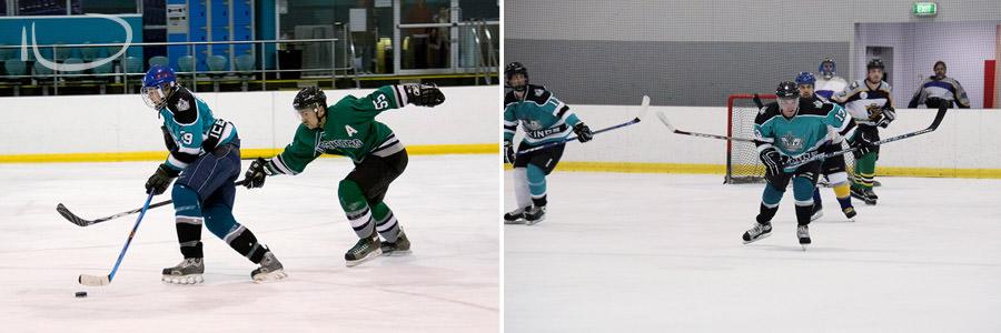 Ice Hockey Sydney Photographer: Game play