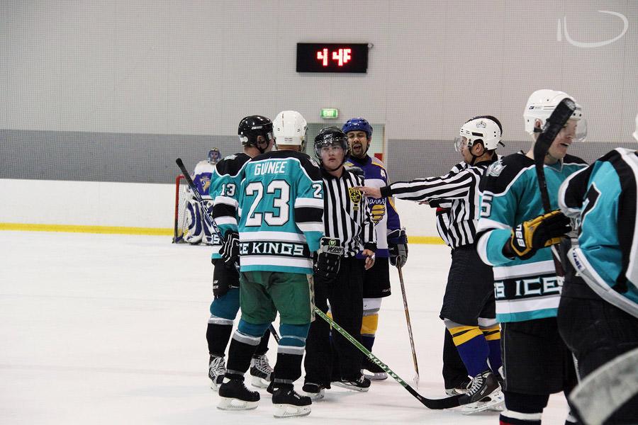 Ice Hockey Sydney Photographer: Hockey fight