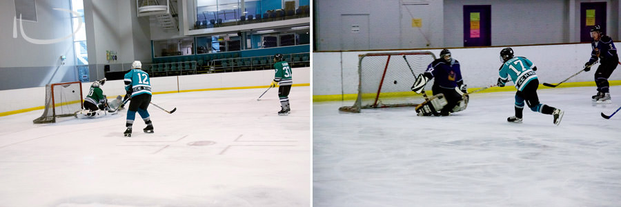 Ice Hockey Sydney Sports Photographer: Goals