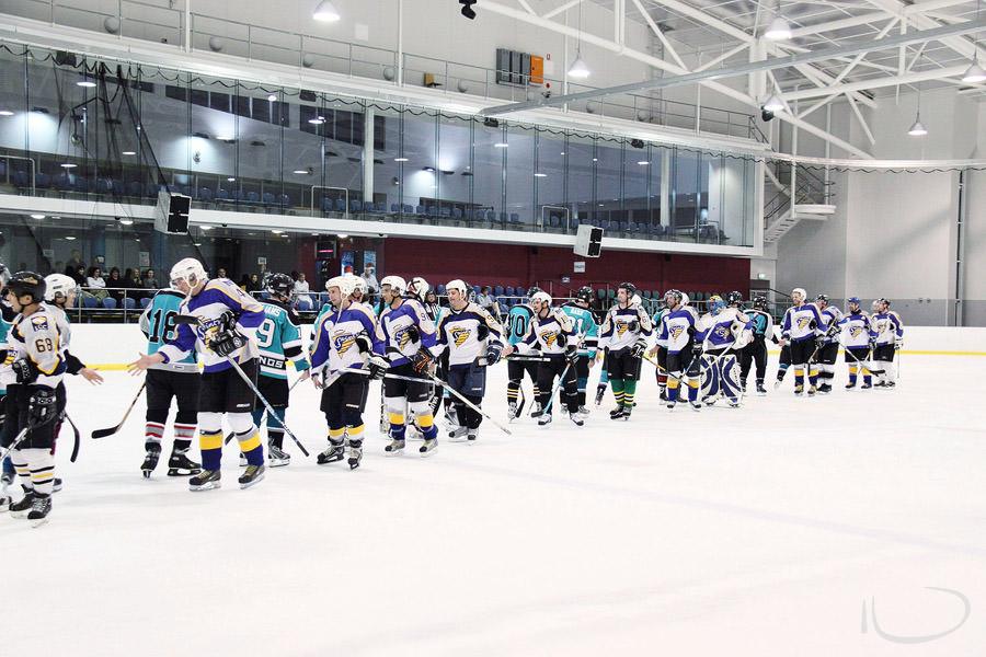Ice Hockey Sydney Sports Photographer: Handshake