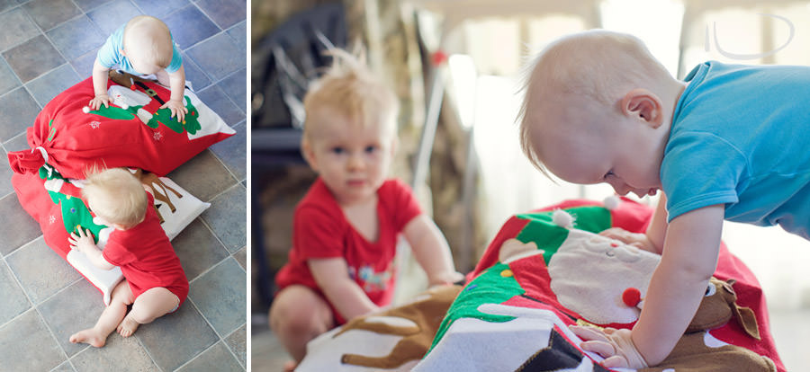 Mona Vale Sydney Baby Photographer: Baby's first Christmas