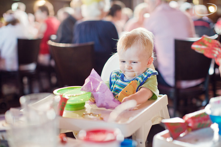 Mona Vale Sydney Baby Photographer: First Christmas dinner