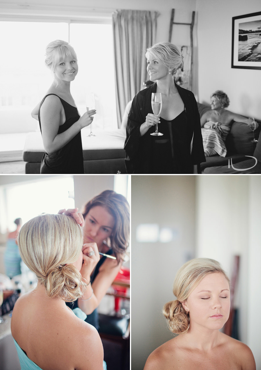 Sydney Wedding Photographer: Bride & bridesmaids getting ready