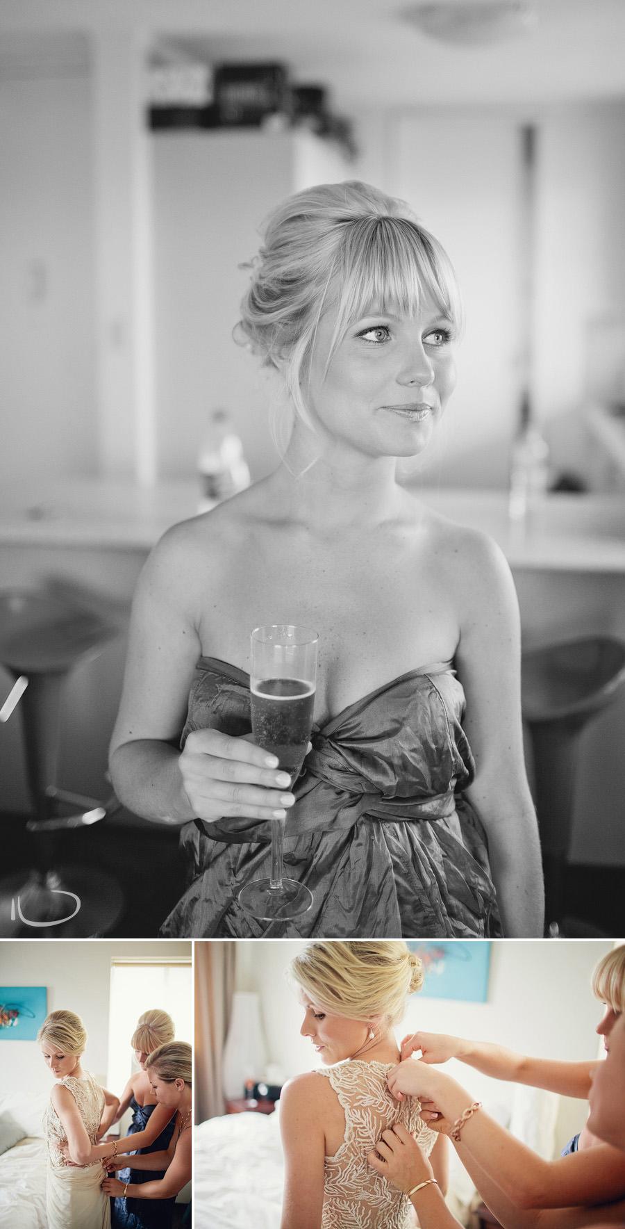 Sydney Wedding Photographers: Bride & Bridesmaids getting ready
