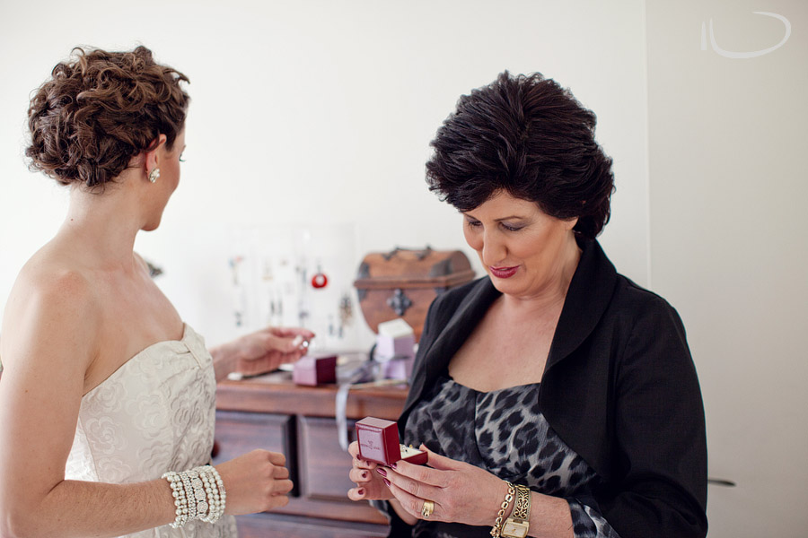 Candid Wedding Photography: Bride getting ready