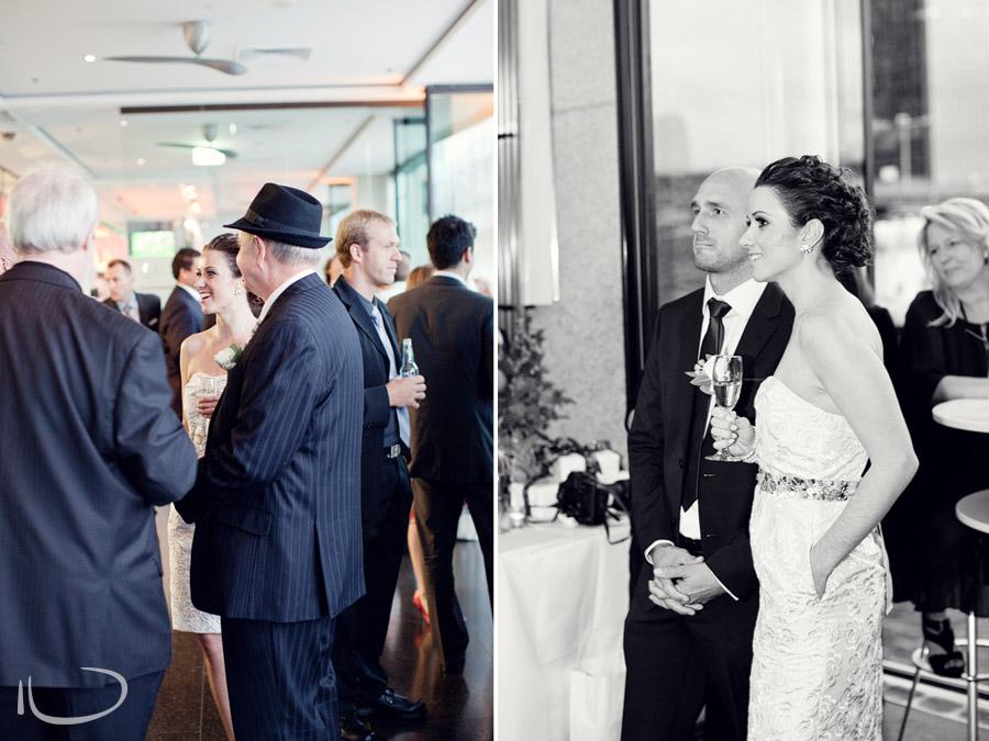 ECQ Bar Wedding Photographer: Cocktail reception