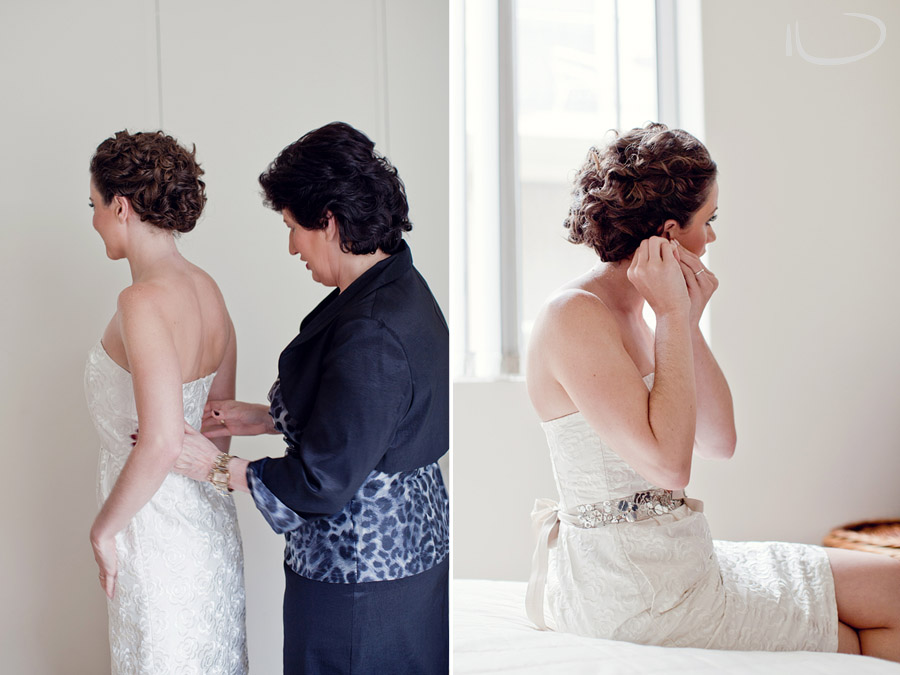 Glebe Wedding Photographery: Bride getting ready
