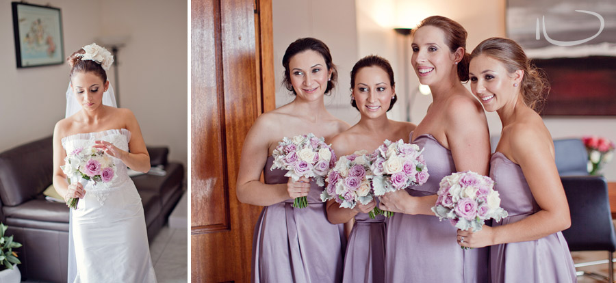 Hunters Hill Wedding Photographer: Bride & Bridesmaids