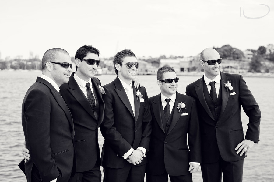 Italian Wedding Photographer: Groom & Groomsmen